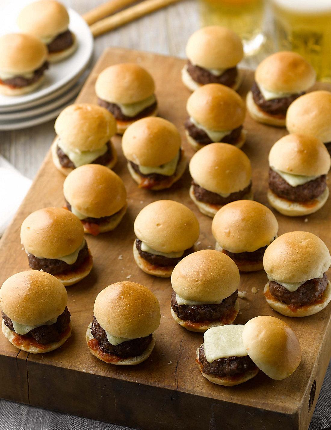 Kids Party Platter with Mini Hamburgers Platter